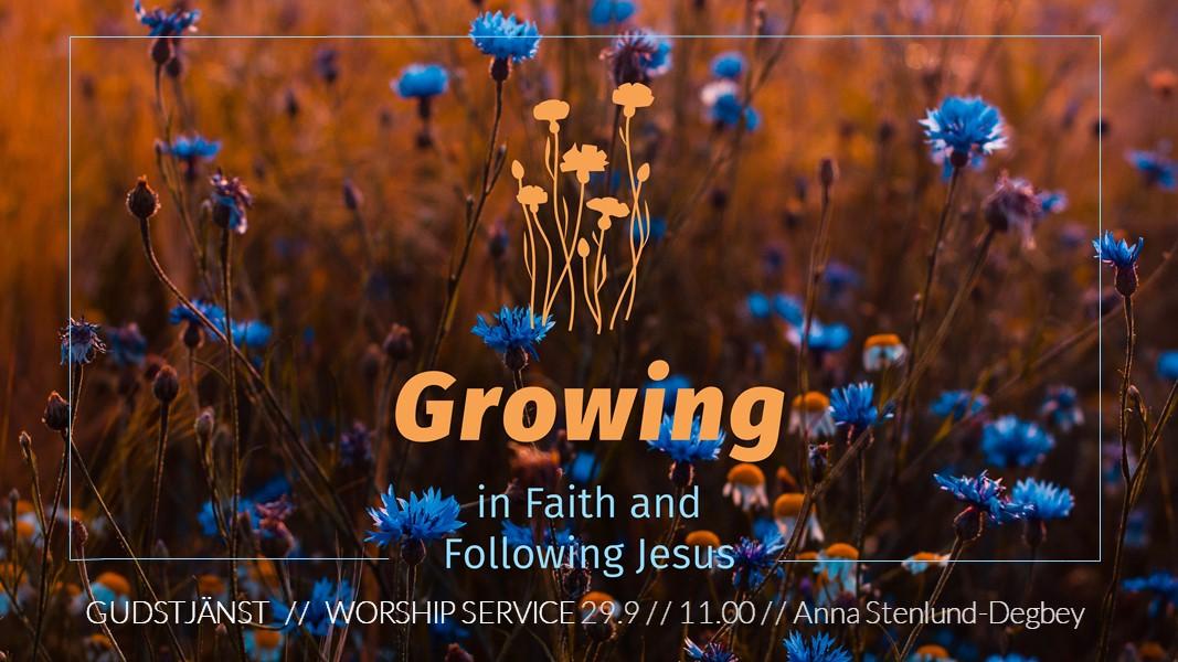 To grow through trials